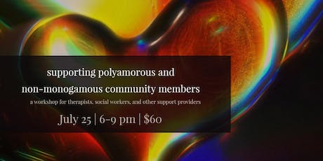 Supporting non-monogamous community members tickets