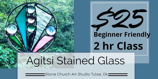 Stained Glass Rings of Summer Color