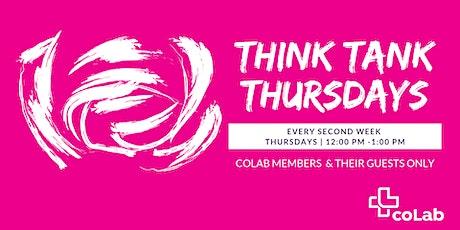 Think Tank Thursdays tickets