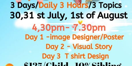 Design Bootcamp 8 - 18 YRS tickets