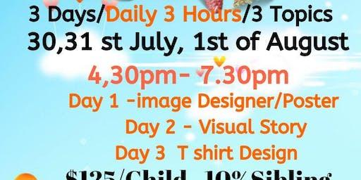 Design Bootcamp 8 - 18 YRS