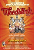 50th Anniversary of Woodstock - Tribute to Santana featuring ZEBOP! plus Tribute to Jimi Hendrix & Janis Joplin featuring LIQUID SKY