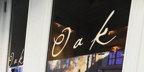 Oak Wine Bar's Summer Wine Festival tickets