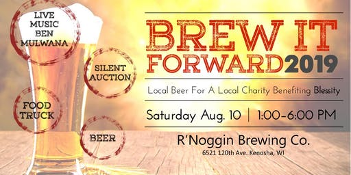 Brew It Forward 2019 - Benefiting Blessity.org