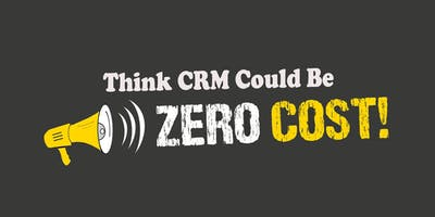 'Free CRM' Demo – Learn more about Free of Cost options to help you 'Make Customers For Life'