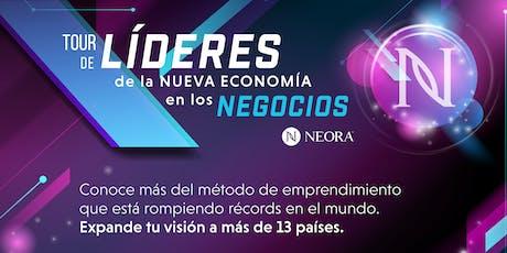 TOUR DE LIDERES DE LA NUEVA ECONOMÍA XALAPA entradas