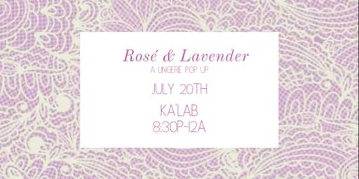 Rosé & Lavender