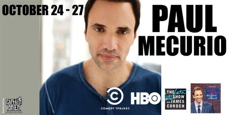Comedian Paul Mecurio live in Naples, Florida tickets
