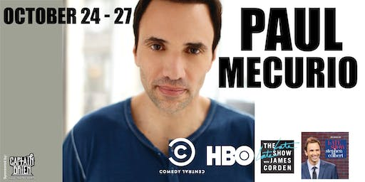 Comedian Paul Mecurio live in Naples, Florida