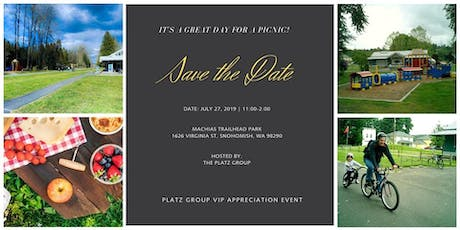 Platz Group VIP Summer BBQ tickets