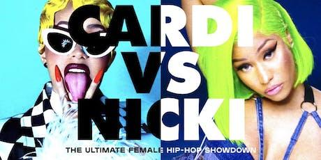 Cardi Vs Nicki tickets