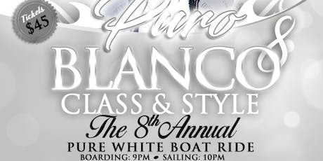 PURO BLANCO-D PURÉ WHITE BOATRIDE  tickets