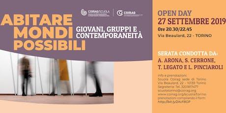 Open Day Scuola di Specializzazione in Psicoterapia della Coirag biglietti