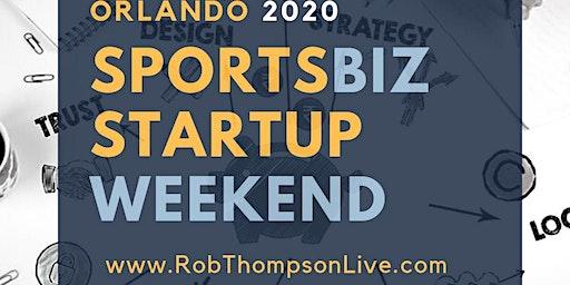 SportsBiz Startup Weekend www.RobThompsonLive.com