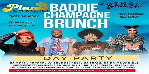 Baddie Champagne Brunch & Day Party