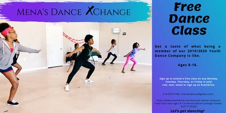 Free Trial Dance Class for MDX Youth Dance Team tickets