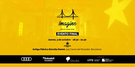 Evento Final Imagine Silicon Valley 2019 - Barcelona entradas