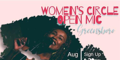Womens Circle Open Mic-- Greensboro