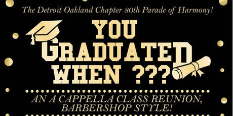 You Graduated When??? tickets