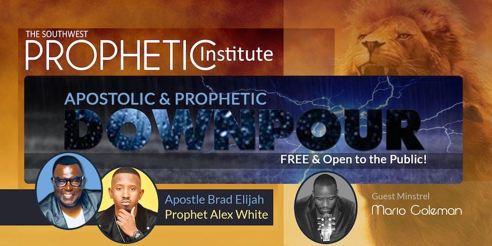 Apostolic & Prophetic Downpour 2019 Tickets, Sat, Nov 2, 2019 at 7