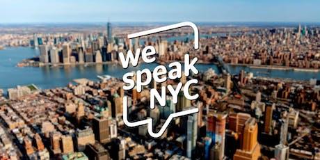 We Speak NYC English Conversation Groups tickets