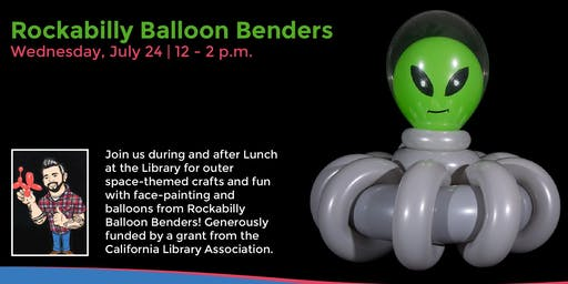 Rockabilly Balloon Benders and Galaxy Slime!
