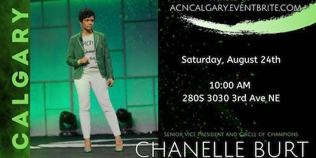 Calgary Regional With SVP Chanelle Burt Aug 2019 tickets