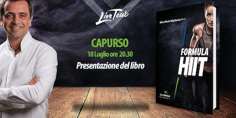 CAPURSO | Presentazione libro Formula HIIT  tickets