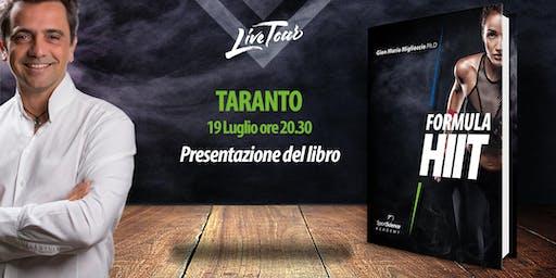 TARANTO | Presentazione libro Formula HIIT