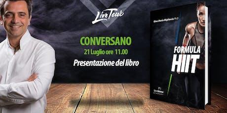 CONVERSANO | Presentazione libro Formula HIIT  tickets