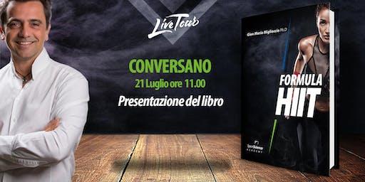 CONVERSANO | Presentazione libro Formula HIIT