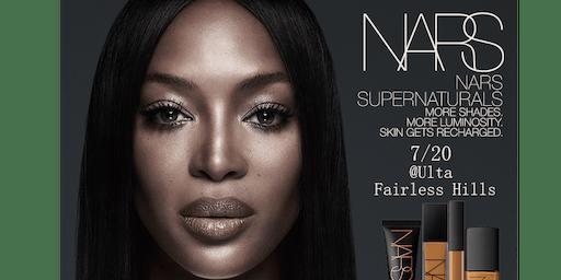 NARS Super Naturals Makeup Event!