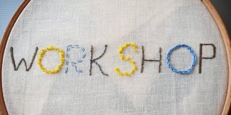 Freehand Embroidery Workshop tickets