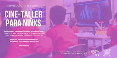 Cine-taller para niños/as