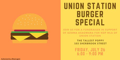 Union Station Burger Special tickets