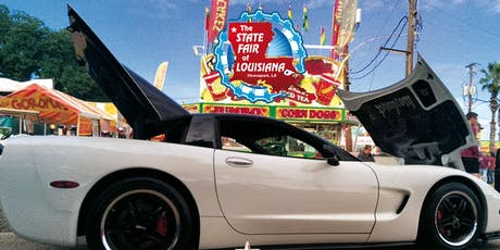 9th Annual Louisiana State Fair Car Show tickets