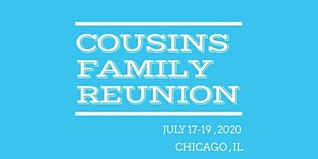 COUSINS FAMILY REUNION 2020 tickets