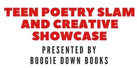 Teen Poetry Slam & Creative Showcase tickets