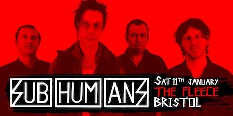 Subhumans tickets