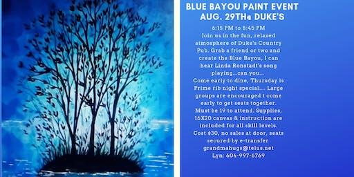 Blue Bayou Paint Event