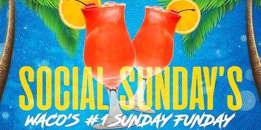 Social Sunday Kickoff