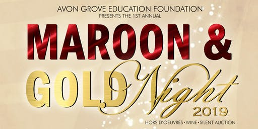 AGEF's Maroon & Gold Night