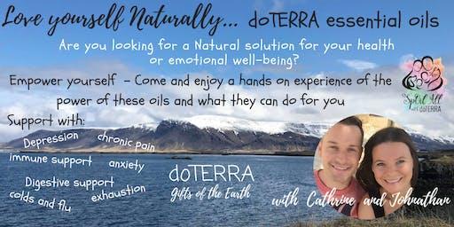 St Albans 22nd - DoTERRA Essential Oil workshop - Natures Healthcare Solution