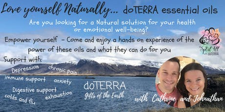 St Albans 24th - DoTERRA Essential Oil workshop - Natures Healthcare Solution tickets