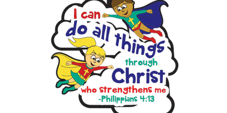 2019 I CAN DO ALL THINGS THROUGH CHRIST 1M, 5K/10K, 13.1/26.2 - Paterson tickets