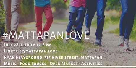 #MattapanLove | An Outdoor Summer Series 3/4 tickets