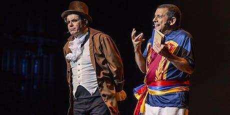 HISTERIA DE VENEZUELA - EMILIO LOVERA & LAUREANO MÁRQUEZ- LONDRES  tickets