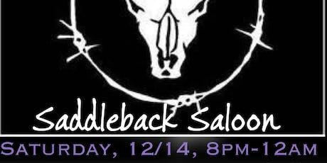 The Samy Jo Band at Saddleback Saloon tickets