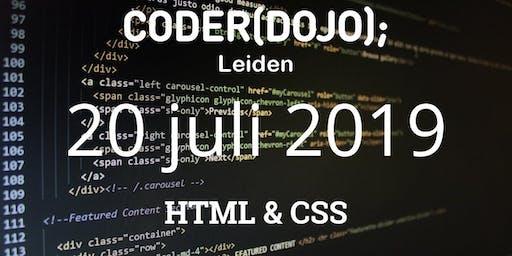 CoderDojo Leiden #61 | HTML & CSS