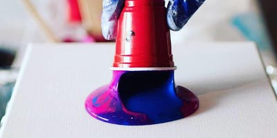 Flow Art Painting Workshop -  Acrylic Pouring (Masterpieces for Beginners!!!)